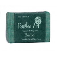 Rustic Art Organic Herbal Soap - 100 GMS