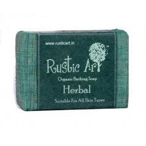 Rustic Art Organic Herbal Soap - 100 GMS
