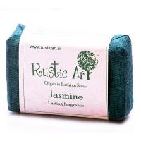 Rustic Art Organic Jasmine Soap - 100 GMS
