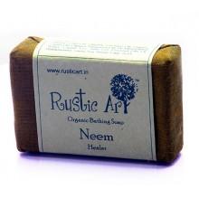 Rustic Art Organic Neem Soap - 100 GMS