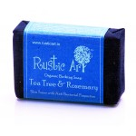 Organic  Tea Tree & Rose Mary Soap - 100 GMS