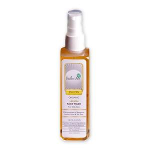 Rustic Art Organic Lemon Face Wash - 100 ML