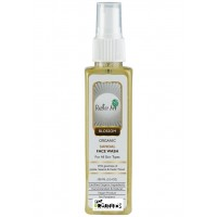 Rustic Art Organic Sandal Face Wash - 100 ML