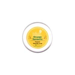Rustic Art Orange Turmeric Shaving Soap - 50 GMS