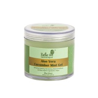 Rustic Art Aloe Vera Cucumber Mint Gel - 100 GMS