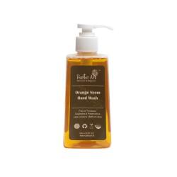 Rustic Art Organic Orange Neem Hand Wash- 245 ML