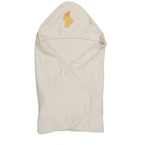 Zeme Organics Baby Bath Towel with Hood