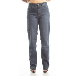 Zeme Organics Denim Sand Blast Relaxed Fit Jeans - For Women