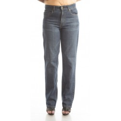 Zeme Organics Denim Whiskers Jeans Relaxed Fit - For Women