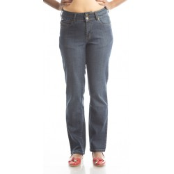 Zeme Organics Denim Sand Blast Jeans Slim Fit - For Women