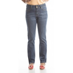 Zeme Organics Denim Slim Fit Whiskers Jeans - For Women