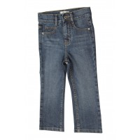 Zeme Organics Denim Jeans Relaxed Fit Straight Leg (Whiskers Wash) - For Kids