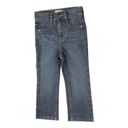 Zeme Organics Denim Jeans Relaxed Fit Straight Leg (Whiskers Wash) - For Kids