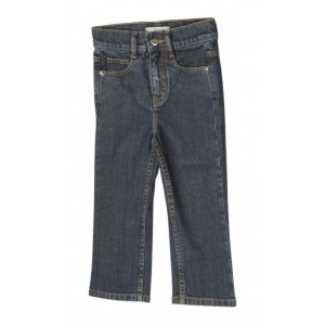 Zeme Organics Denim Jeans  Relaxed Fit Straight Leg (Rinse Wash) - For Kids