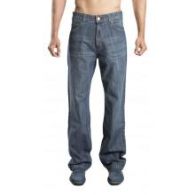 Zeme Organics Denim Jeans Relaxed Fit (Whiskers) - For Men