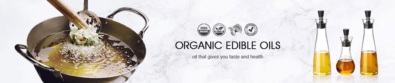 edible organic oil